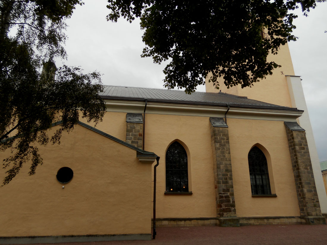 Una chiesa a Jönköping