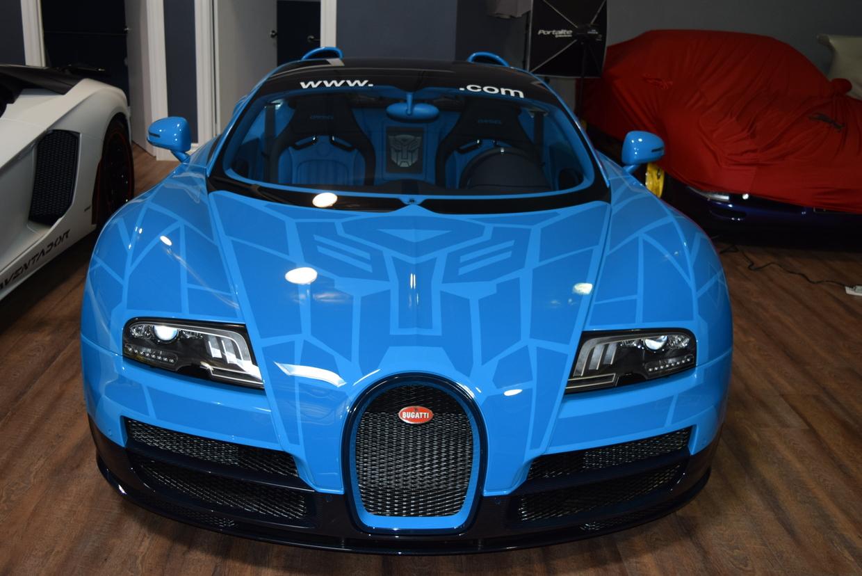 Bugatti veyron grand sport vitesse transformers - photo#3