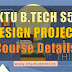Design Project (S5 B.Tech) | A short write up on the course