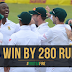 Fast bowler @KagisoRabada25 youngest South African to take 10 wickets South Africa Win by 280-run over England