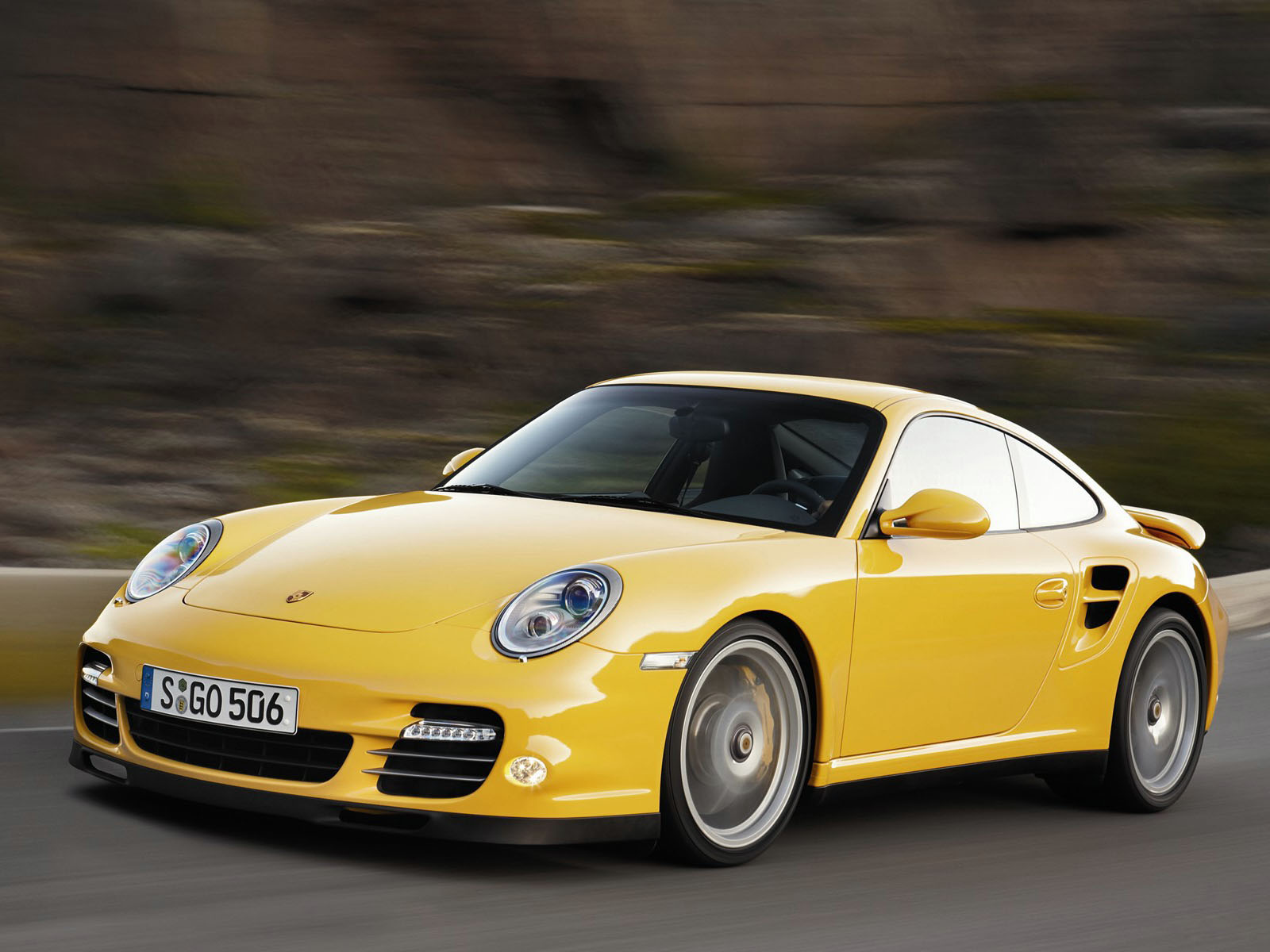 Automotivegeneral Yellow Porsche 911 Turbo S Wallpapers
