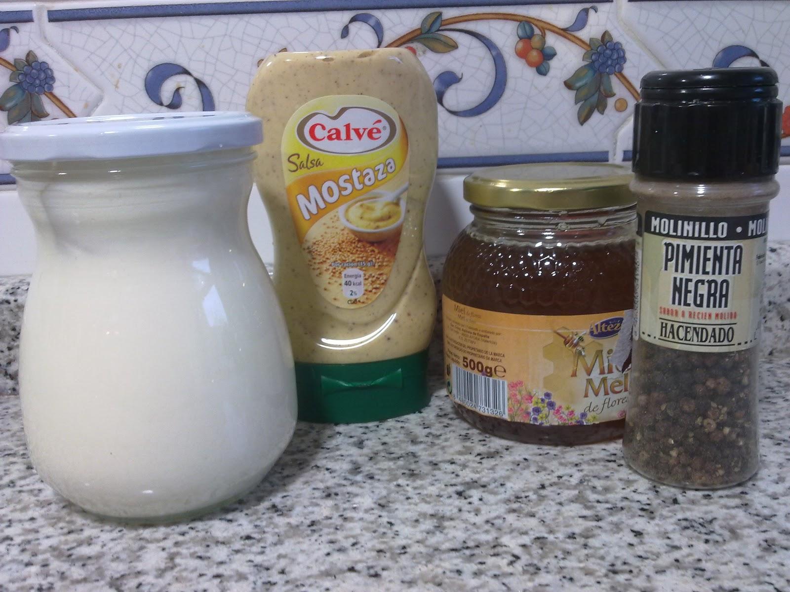 aderezo de mostaza dulce ingredientes