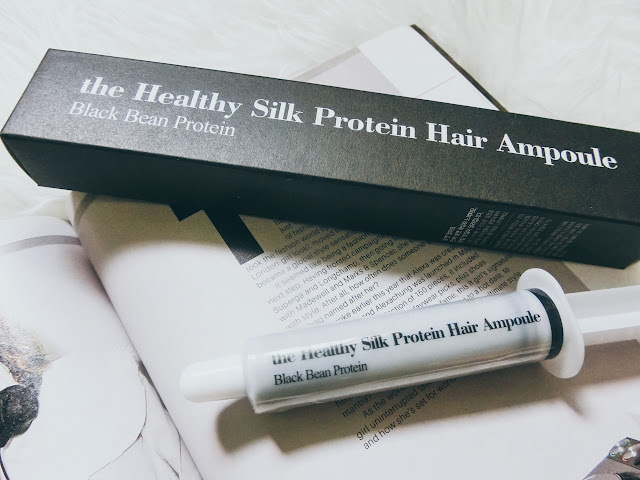 REALSKIN THE HEALTHY SILKY PROTEIN HAIR AMPOULE - โปรตีนผมจากถั่วดำ