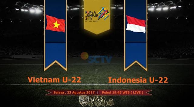 Prediksi Bola : Vietnam U-22 Vs Indonesia U-22 , Selasa 22 Agustus 2017 Pukul 19.45 WIB @ SCTV