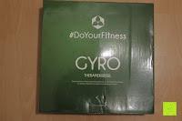 Verpackung: Balance-Board »Gyro« / Der ideale Kreisel für Physiosport / Physiotherapie. Mit dem Wackelbrett trainiert bzw. stärkt man das Körpergleichgewicht & die Körper-Koordination. Auch einsetzbar als Therapiekreisel / Koordinations Board für Fitness und Spielspaß / Durchmesser ca. 40cm & Höhe ca. 10cm