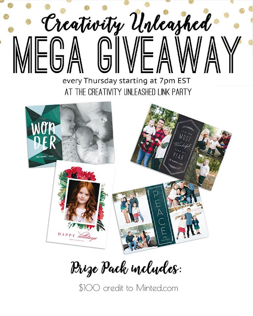 Minted Giveaway at the Creativity Unleashed Party, MyLove2Create
