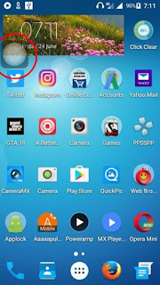 How to create internet data toggle on Lollipop OS using Secure Setting and Floating Toucher?