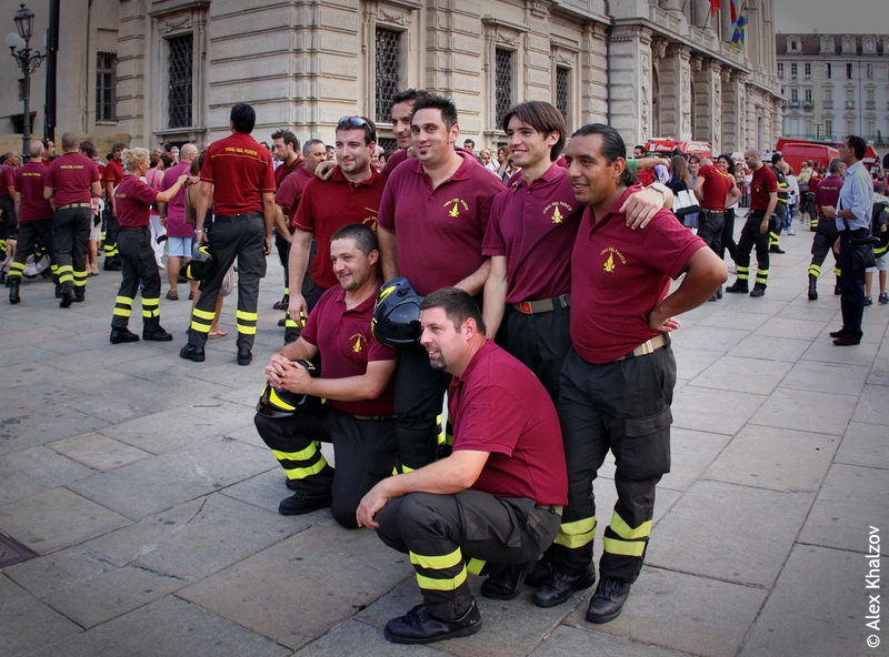 туринские пожарные