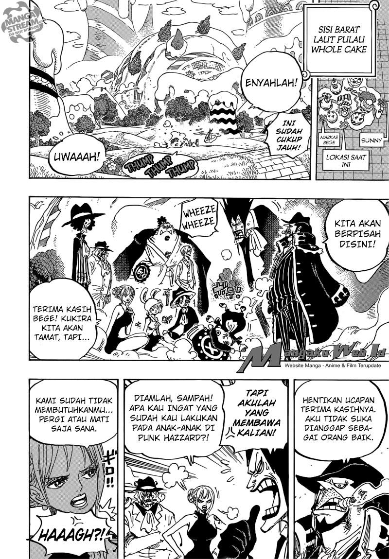 Komik One Piece – Chapter 872 : Lembut dan Halus