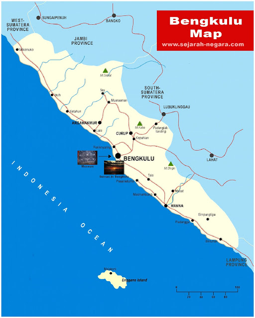 image: Bengkulu Map High Resolution