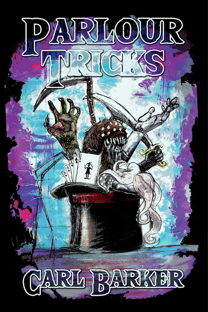 Parlour Tricks by Carl Barker is the latest book from Parallel Universe Publications