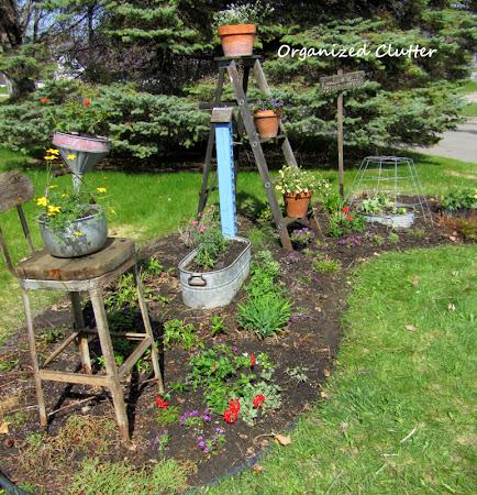 Planning & Planting a Junk Garden 2014