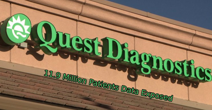 Quest Diagnostics  - Quest 2BDiagnostics - Quest Diagnostics Says Nearly 12 Million Patients Records Exposed