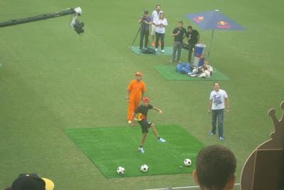 Evento da Redbull com Neymar na Vila Belmiro - Santos - SP