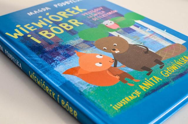 Wiewiórek i Bóbr. Przygody leśnych detektywów - znakomita lektura dla młodszych przedszkolaków