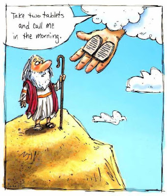 The Ten Commandments Cartoon Picture