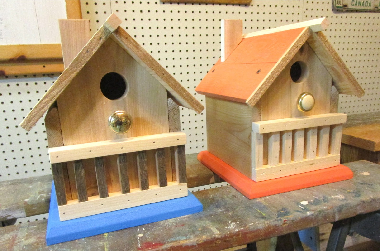 It strikes me funny by g harrison six no eight cedar for Different types of birdhouses
