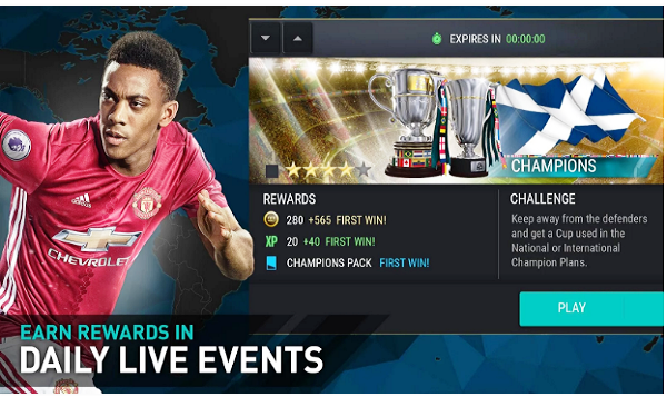 حمل لعبة FIFA Mobile Football على موبايلك مجانا