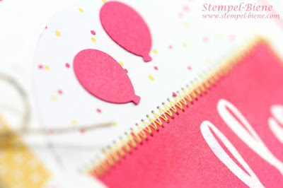 stampin up meine Party, Match the sketch, Stampinup Sale a bration, stampin Up Geburtstagskarte, Stempel-Biene