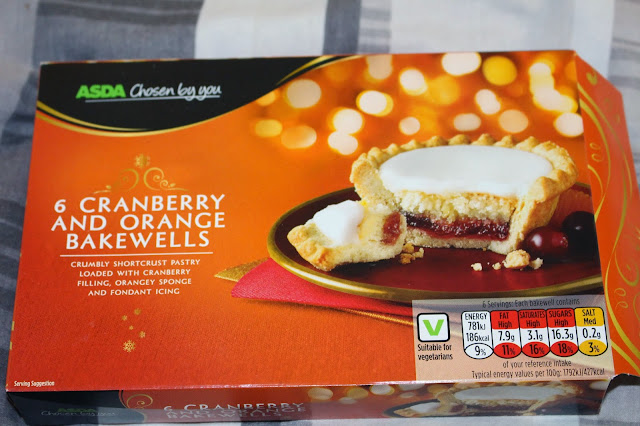Asda's Cranberry & Orange Bakewells