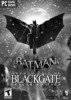 Batman: Arkham Origins Blackgate (Delux Edition) Cover