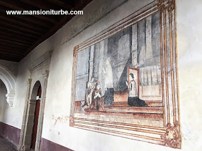 Colonial Art at the Former Convent of Santa Ana in Tzintzuntzan, Michoacán