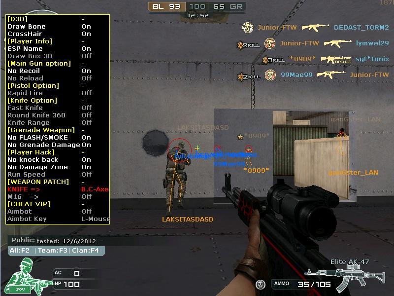 Cheat CrossFire VIP Hack - Fly - AIM - dll: CrossFire VIP Hack