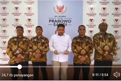 [Video] Aparat Kepolisian Tim Pengaman VVIP Capres 02 Mohon Maaf dan Meluruskan Video Hoax Prabowo