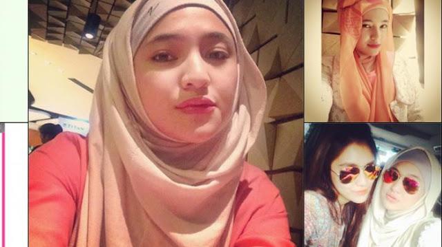 Setelah diHujat Kini Marshanda Kembali Pakai Hijab