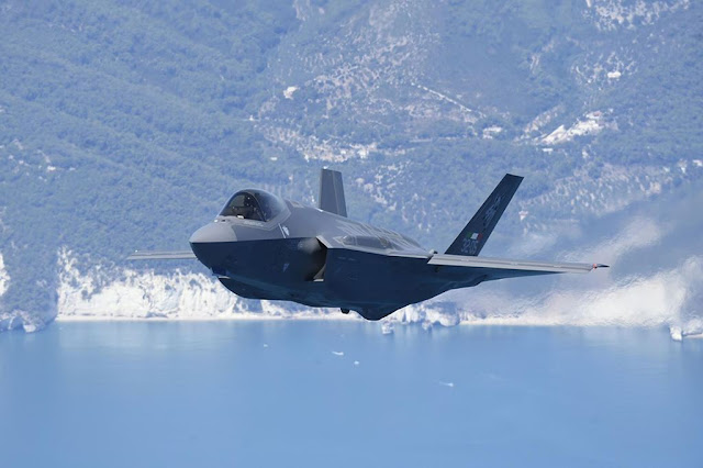 Iniohos 2019 Greece Italian F-35