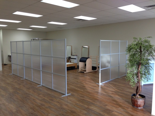 Rooms: IDivide Modern Modular Office Partitions & Room Dividers