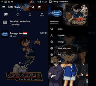 BBM Mod Tema Conan Detective 3.2.5.12 apk