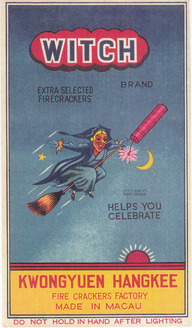 Cool Vintage Chinese Firecracker Labels Vintage Everyday
