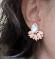 Consultoria de imagem - passatempo - brincos rosa quartzo