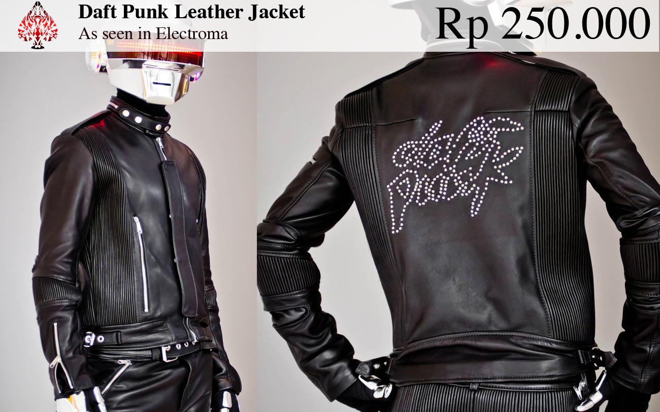 acb26b34c iHateMaling: Daft Punk Leather Jacket
