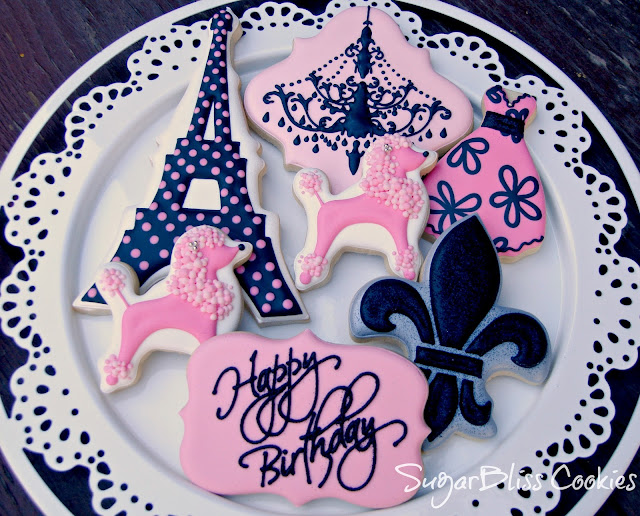 Southern Blue Celebrations Paris Cookies Tons Of Great