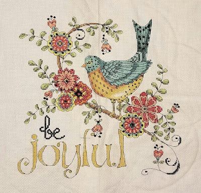 Be Joyful Cross Stitch
