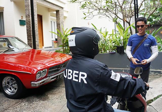Hadir di Bandung, Surabaya, dan Denpasar, Uber Motor Tawarkan Tarif……