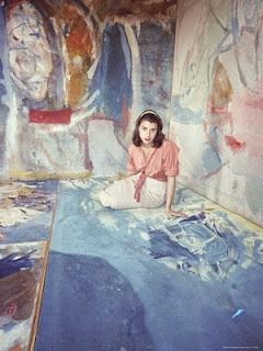 Famous Women Artists: Helen Frankenthaler read more on http://schulmanart.blogspot.com/2014/09/famous-women-artists-helen-frankenthaler.html