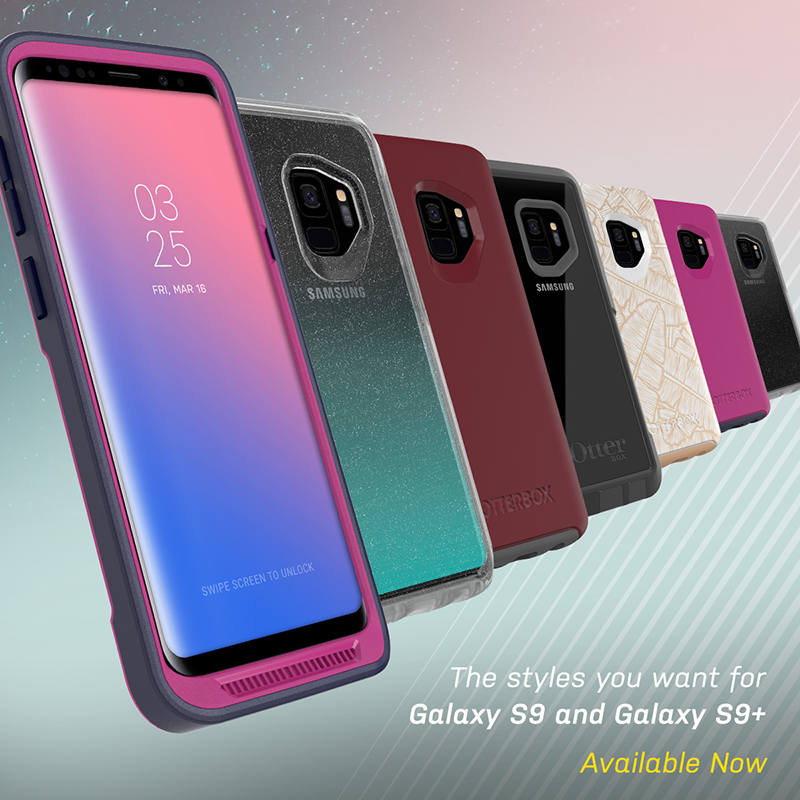 Otterbox Samsung Galaxy S9/S9+ line of cases now in the Philippines!