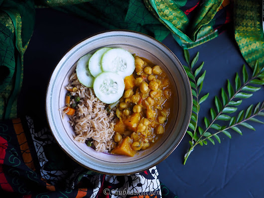 Chickpea Squash curry
