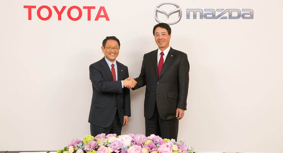 Toyota, Mazda Narrow Down Locations for Shared Plant