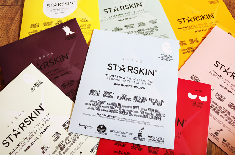 UK Giveaway! Win the whole core set of STARSKIN products worth £64!
