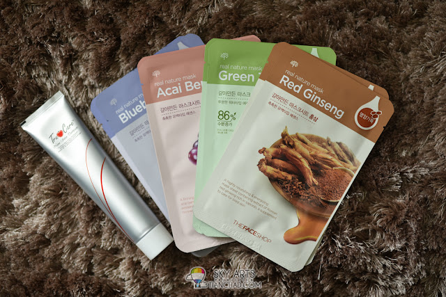 TrumerX Toothpaste and Real Nature Facial Masks