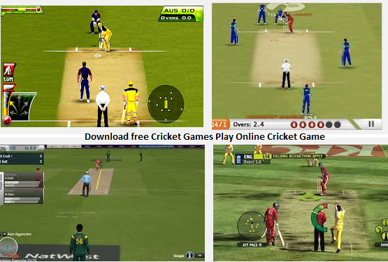 cricket games free online games