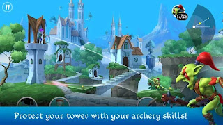 تحميل لعبة tiny archers مهكرة من ميديا فاير