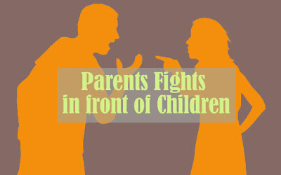 Children need an explanation for their parents' fights