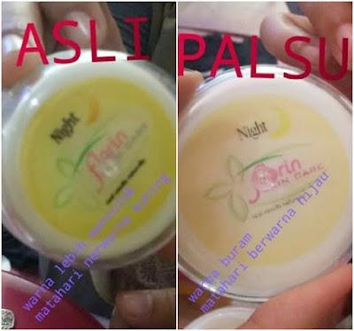 Isi Original Asli dan Palsu Florin Skin Care Terbaru