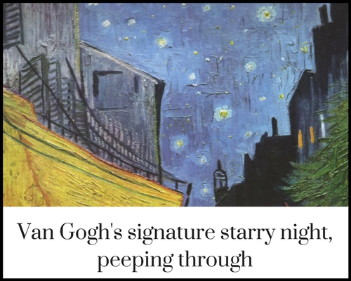 Cafe Terrace At Night By Vincent Van Gogh Indian Screw Up