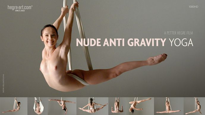 Hegre-Art - Magdalena - Nude Anti Gravity Yoga - idols